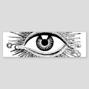 Eye Eyeball Bumper Sticker