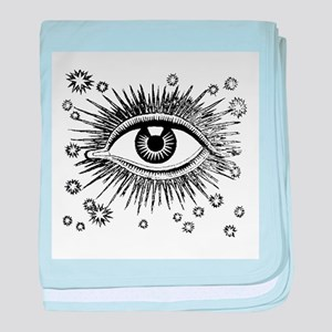 Eye Eyeball baby blanket