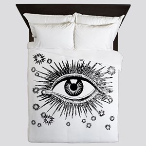 Eye Eyeball Queen Duvet