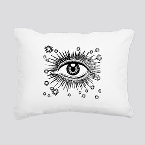 Eye Eyeball Rectangular Canvas Pillow