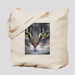 Green eyes Tote Bag