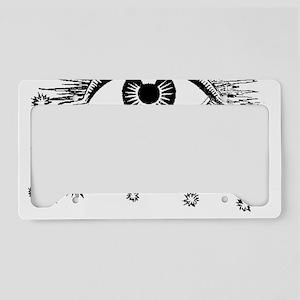 Eye Eyeball License Plate Holder