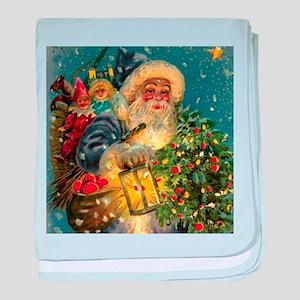 Blue_Santa_lanternTILE baby blanket