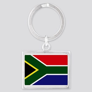 South African flag Landscape Keychain