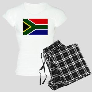 South African flag Women's Light Pajamas