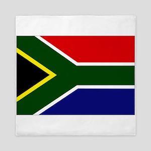 South African flag Queen Duvet