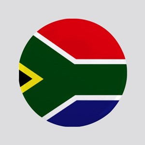 """South African flag 3.5"""" Button"""