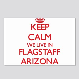 Keep calm we live in Flag Postcards (Package of 8)