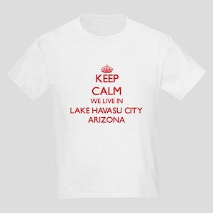 Keep calm we live in Lake Havasu City Ariz T-Shirt