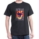 Obey the Rat Terrier! - USA Dark T-Shirt