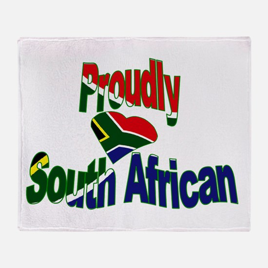 Proudly South African Throw Blanket