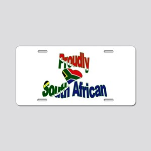 Proudly South African Aluminum License Plate