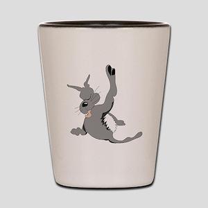 Cartoon Cat Shot Glass