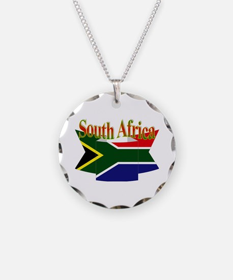 South African ribbon Necklace