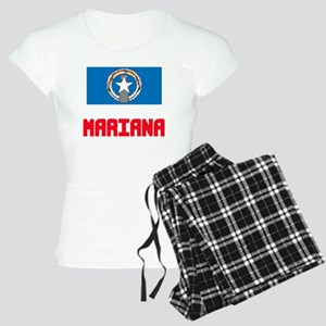 Mariana Flag Design Pajamas