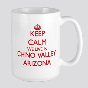 Keep calm we live in Chino Valley Arizona Mugs