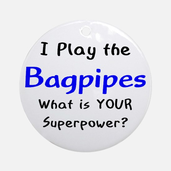 play bagpipes Ornament (Round)