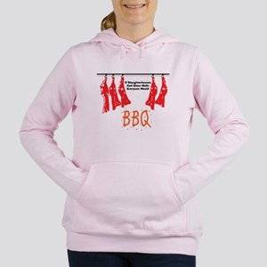 bbq Women's Hooded Sweatshirt