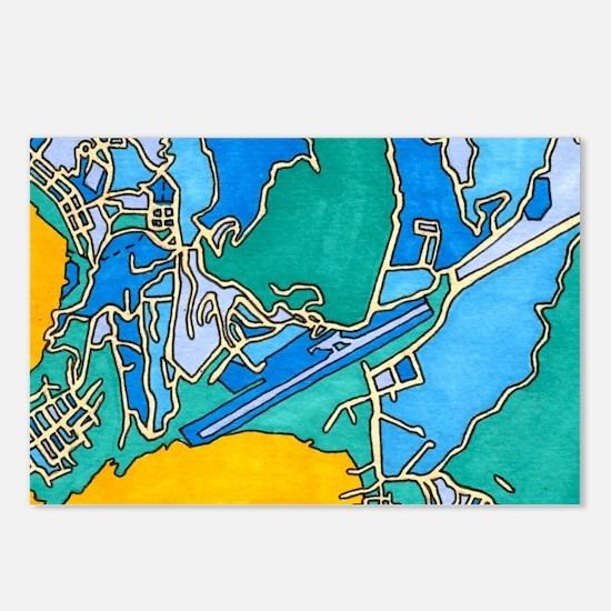Kingstown, Saint Vincent Postcards (package Of 8)
