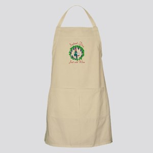 Instant Diva w/leaves BBQ Apron