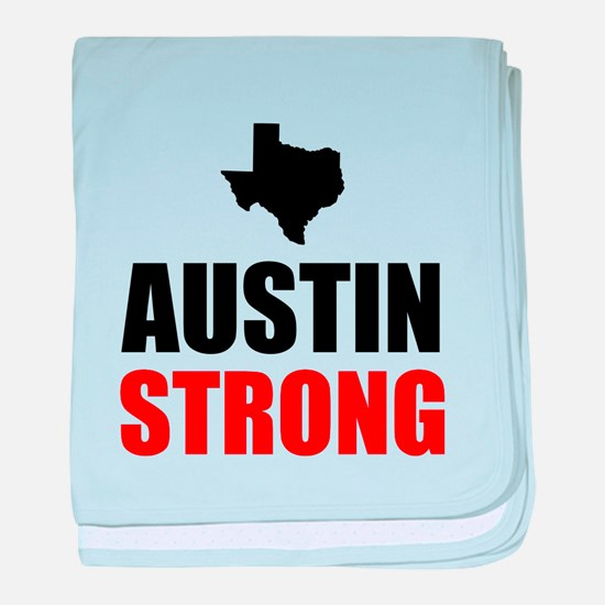 Austin Strong baby blanket