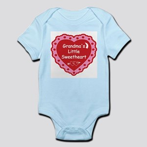 Grandma's Little Sweetheart Body Suit