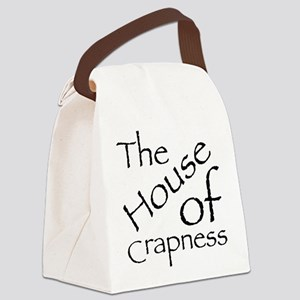 The House of Crapness Classic Logo Canvas Lunch Ba