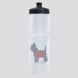 Cairn Terrier Holiday Sports Bottle