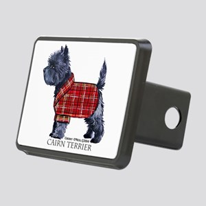 Cairn Terrier Holiday Rectangular Hitch Cover