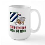 Back to Iraq 3ID Large Mug