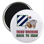 Back to Iraq 3ID Magnet