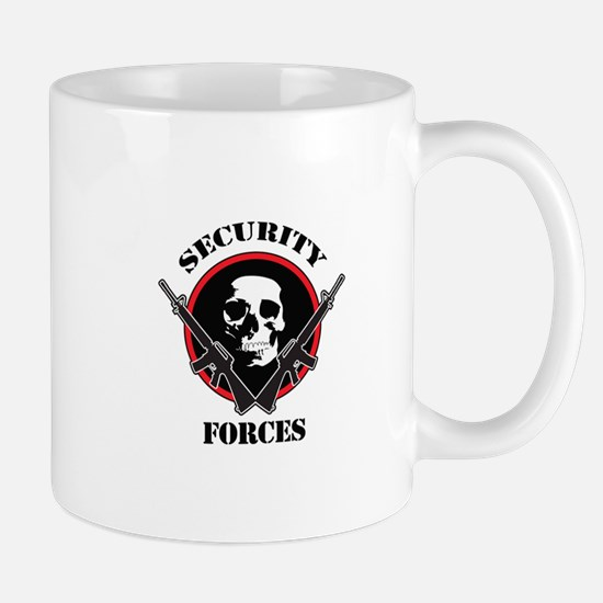 SECURITY FORCES Mugs