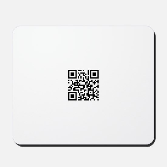 qr code Mousepad