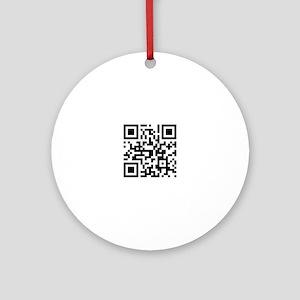 qr code Ornament (Round)