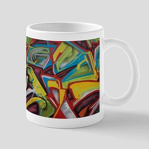 Colors vibrant graffiti art Mugs