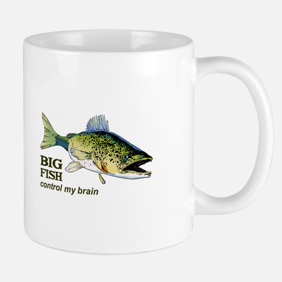 BIG FISH CONTROL MY BRAIN Mugs