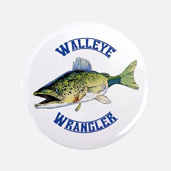 """WALLEYE WRANGLER 3.5"""" Button"""