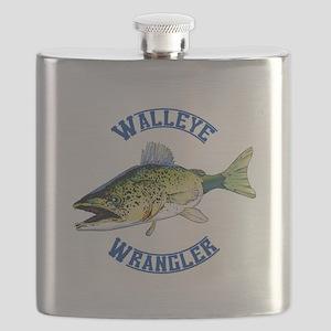 WALLEYE WRANGLER Flask