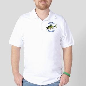 WALLEYE WRANGLER Golf Shirt