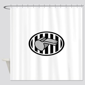 REFEREE LOGO Shower Curtain