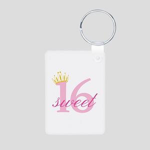 Sweet Sixteen Keychains