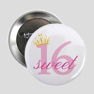 """Sweet Sixteen 2.25"""" Button (10 pack)"""