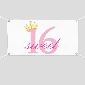 Sweet Sixteen Banner