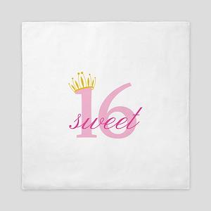 Sweet Sixteen Queen Duvet