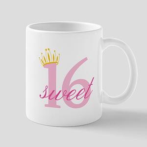 Sweet Sixteen Mugs