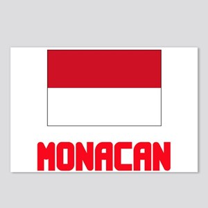 Monacan Flag Design Postcards (Package of 8)