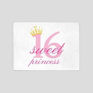 Sweet Sixteen Princess 5'x7'Area Rug