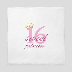 Sweet Sixteen Princess Queen Duvet