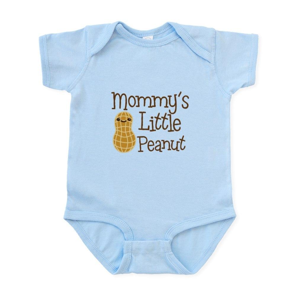 CafePress-Mommy-039-s-Little-Peanut-Body-Suit-Baby-Bodysuit-1472978239 thumbnail 10