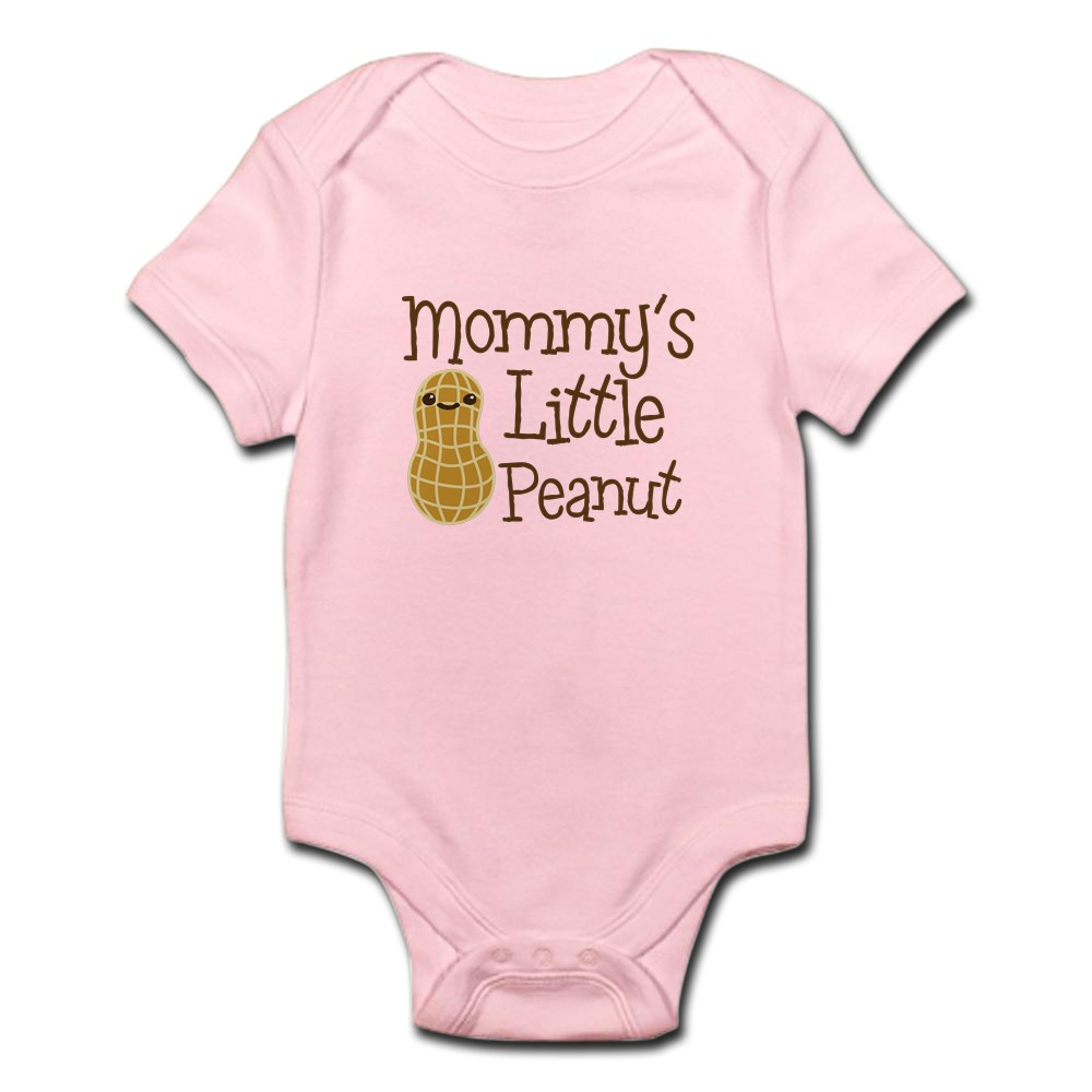 CafePress-Mommy-039-s-Little-Peanut-Body-Suit-Baby-Bodysuit-1472978239 thumbnail 13